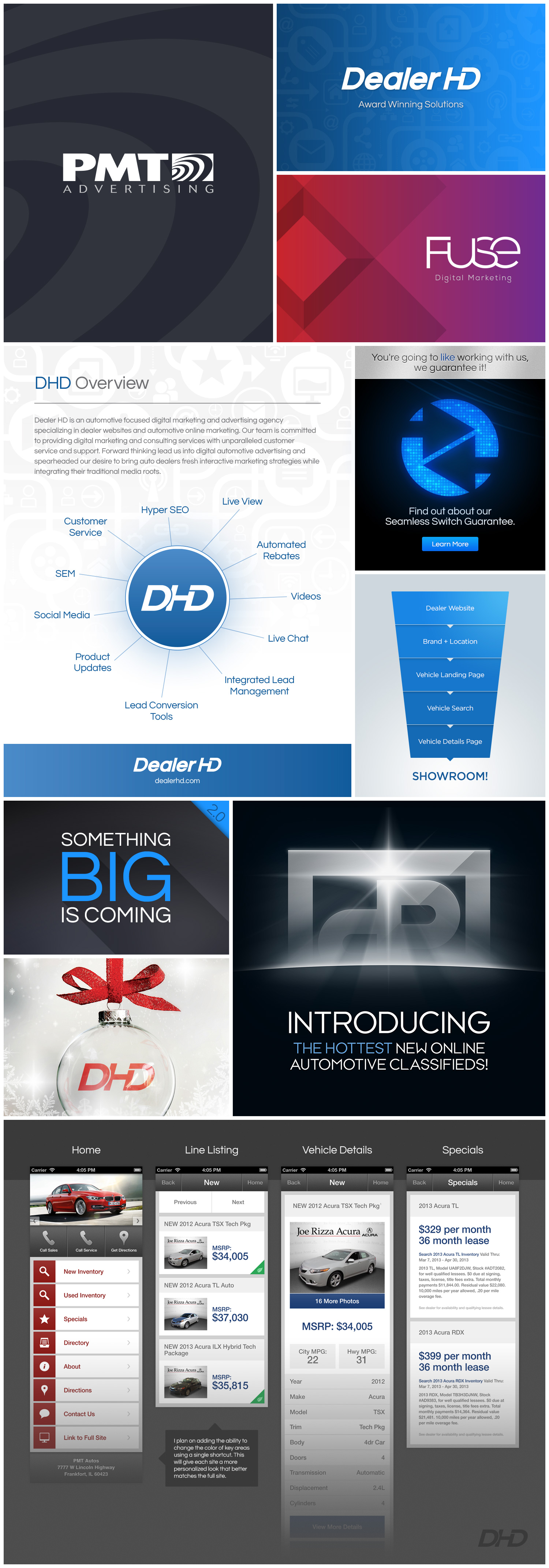 Internal branding designs